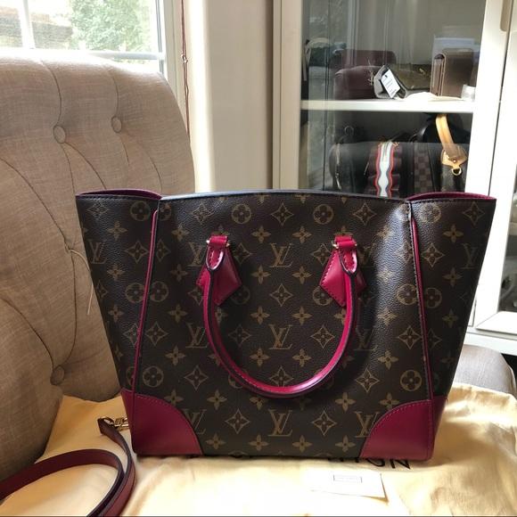 a9fe624f39f Louis Vuitton phenix mm monogram fuchsia bag NWT